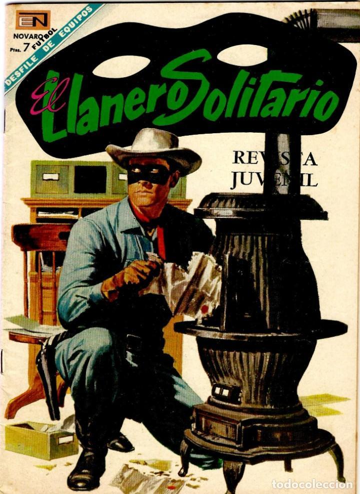 EL LLANERO SOLITARIO Nº 189 - ED. NOVARO - DICIEMBRE 1968 - 255X175 MM. (Tebeos y Comics - Novaro - El Llanero Solitario)
