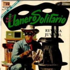 Tebeos: EL LLANERO SOLITARIO Nº 189 - ED. NOVARO - DICIEMBRE 1968 - 255X175 MM.. Lote 276297678