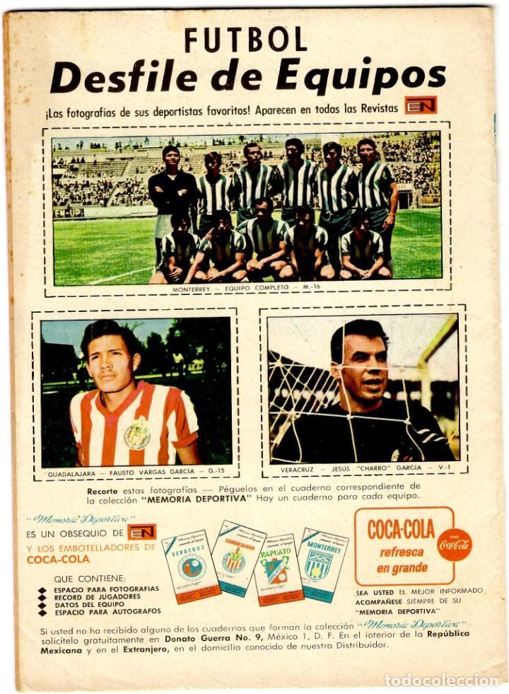 Tebeos: El Llanero Solitario nº 189 - Ed. Novaro - Diciembre 1968 - 255x175 mm. - Foto 3 - 276297678