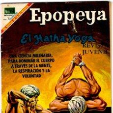 Tebeos: EPOPEYA Nº 130 - ED. NOVARO - MARZO1969 - 257X175 MM.. Lote 276302133