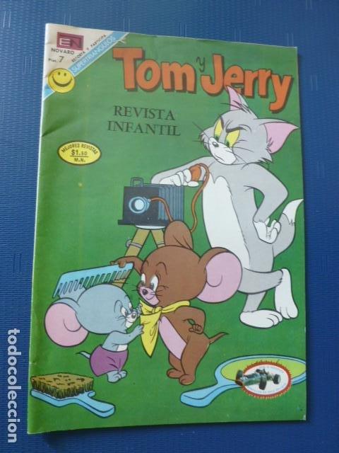 COMIC TOM Y JERRY Nº 348 1972 DE NOVARO (Tebeos y Comics - Novaro - Tom y Jerry)