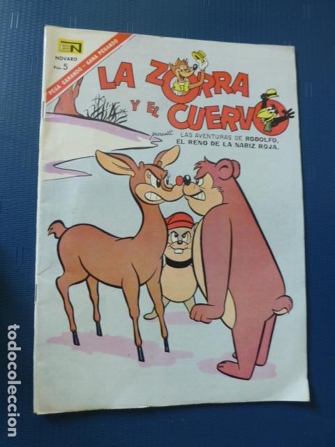 COMIC LA ZORRA Y EL CUERVO Nº 193 1967 DE NOVARO (Tebeos y Comics - Novaro - Otros)