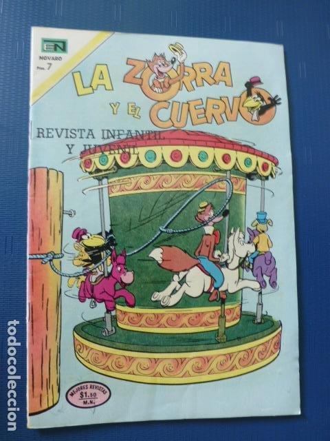 COMIC LA ZORRA Y EL CUERVO Nº 283 1972 DE NOVARO (Tebeos y Comics - Novaro - Otros)