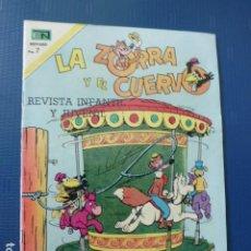 Tebeos: COMIC LA ZORRA Y EL CUERVO Nº 283 1972 DE NOVARO. Lote 276490023