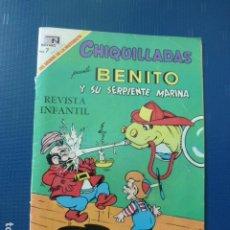 Tebeos: COMIC CHIQUILLADAS Nº 258 1969 DE NOVARO. Lote 276490403