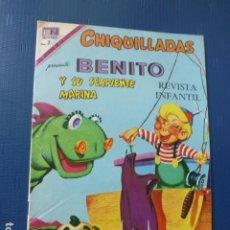 Tebeos: COMIC CHIQUILLADAS Nº 262 1969 DE NOVARO. Lote 276490523