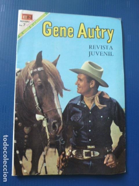 COMIC GENE AUTRY Nº 183 1969 DE NOVARO (Tebeos y Comics - Novaro - Otros)