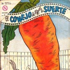 Tebeos: COMIC COLECCION EL CONEJO DE LA SUERTE Nº 187. Lote 276506953