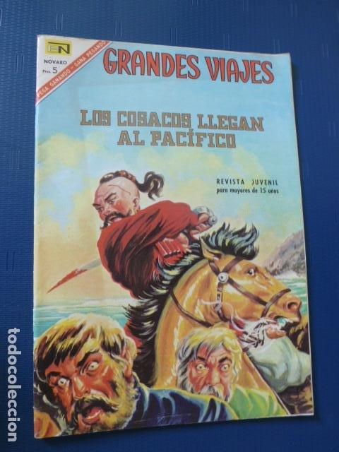 COMIC GRANDES VIAJES Nº 49 1967 DE NOVARO (Tebeos y Comics - Novaro - Grandes Viajes)