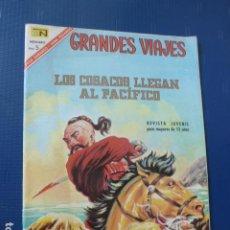 Tebeos: COMIC GRANDES VIAJES Nº 49 1967 DE NOVARO. Lote 276520518