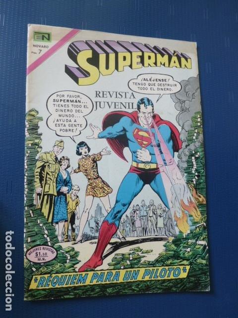 COMIC SUPERMAN Nº 846 1972 DE NOVARO (Tebeos y Comics - Novaro - Superman)