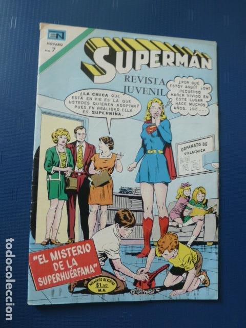 COMIC SUPERMAN Nº 848 1972 DE NOVARO (Tebeos y Comics - Novaro - Superman)