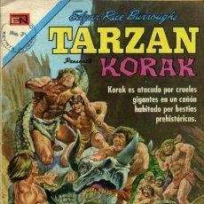 Tebeos: TARZÁN-NOVARO- Nº 287 -TIERRA DE GIGANTES-1972-GRAN DAN SPIEGLE-CASI BUENO-DIFÍCIL-LEA-5244. Lote 276570588