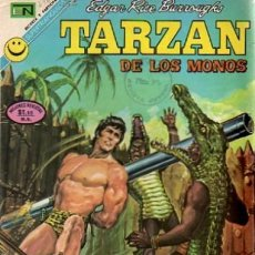 Tebeos: TARZÁN-NOVARO- Nº 296 -LA REINA DE DIAMANTES-1972-APASIONANTE-CASI BUENO-DIFÍCIL-LEA-5245. Lote 276572153