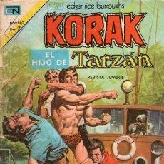 Tebeos: KORAK-EL HIJO DE TARZÁN-NOVARO- Nº 19 -LA PATRULLA DE LA MUERTE-1973-CORRECTO-DIFÍCIL-LEAN-5246. Lote 276574343