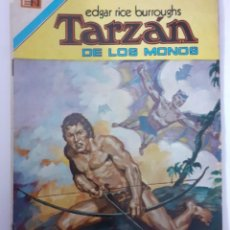 Tebeos: TARZÁN-NOVARO-SERIE AVESTRUZ- Nº 38 -LOS HOMBRES MURCIÉLAGO-1977-ESCASO-CASI BUENO-LEA-5247. Lote 276576633
