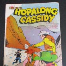 Tebeos: HOPALONG CASSIDY (1954, ER / NOVARO) 74 · VII-1960 · HOPALONG CASSIDY. Lote 277002278