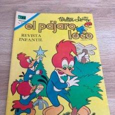 Tebeos: EL PAJARO LOCO Nº 386. NOVARO 1962. NUEVO. Lote 277582618