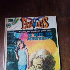 Tebeos: FANTOMAS N°162- LA AMENAZA ELEGANTE -EL ROBO DEL PENSAMIENTO -NOVARO-. Lote 277624998
