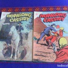 Tebeos: HOPALONG CASSIDY NºS 90 Y 92. NOVARO 1962. DIFÍCILES.. Lote 277755903
