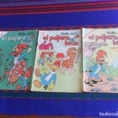 Tebeos: EL PÁJARO LOCO NºS 267, 279 Y 287. NOVARO 1965. 5 PTS.. Lote 277759613