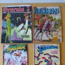 Tebeos: LOTE DE 4 COMICS, NOVARO, AÑOS 60.. Lote 277839788