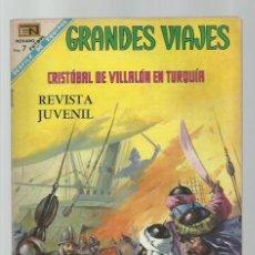 Tebeos: GRANDES VIAJES 61: CRISTÓBAL DE VILLALÓN EN TURQUÍA, 1968, NOVARO, BUEN ESTADO. Lote 278273563