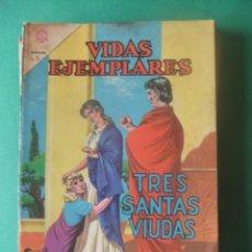 Tebeos: VIDAS EJEMPLARES Nº 176 TRES SANTAS VIUDAS EDITORIAL NOVARO. Lote 278703248