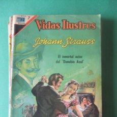 Tebeos: VIDAS EJEMPLARES Nº 177 JOHANN STRAUSS EDITORIAL NOVARO. Lote 278703383