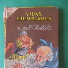 Tebeos: VIDAS EJEMPLARES Nº 198 SANTOS BARSES,EULOGIO Y PROTOGENES EDITORIAL NOVARO. Lote 278703873
