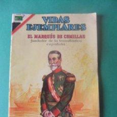 Tebeos: VIDAS EJEMPLARES Nº 260 EL MARQUES DE COMILLAS EDITORIAL NOVARO. Lote 278754148