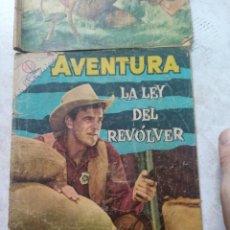 Tebeos: LOTE , AVENTURA - LA LEY DEL REVOLVER - NOVARO (SEA). Lote 278812623