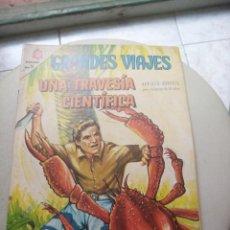 Tebeos: GRANDES VIAJES 38: UNA TRAVESÍA CIENTÍFICA, 1966, NOVARO. Lote 278813258