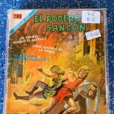 Tebeos: NOVARO SERIE AGUILA EL PODEROSO SANSON NUMERO 76 NORMAL ESTADO. Lote 278881448