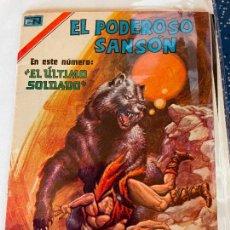 Tebeos: NOVARO SERIE AGUILA EL PODEROSO SANSON NUMERO 120 MUY BUEN ESTADO. Lote 278881468