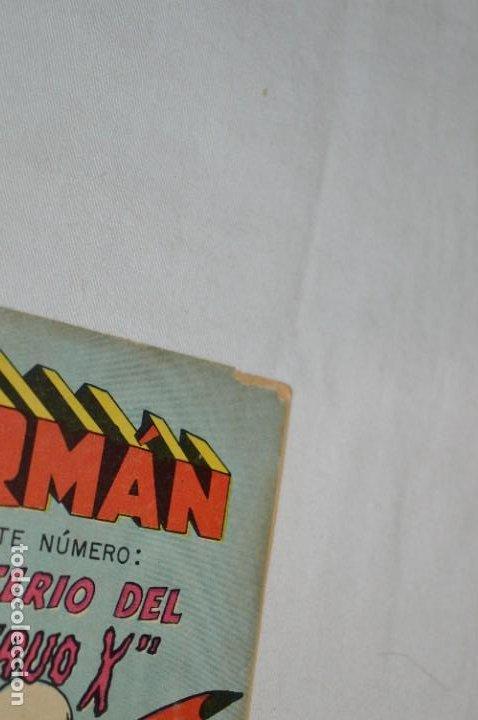 Tebeos: El MISTERIO del MONSTRUO X / Número 191 / SUPERMAN / De NOVARO -Años 50/60 - ¡Mira fotos y detalles! - Foto 8 - 278931848