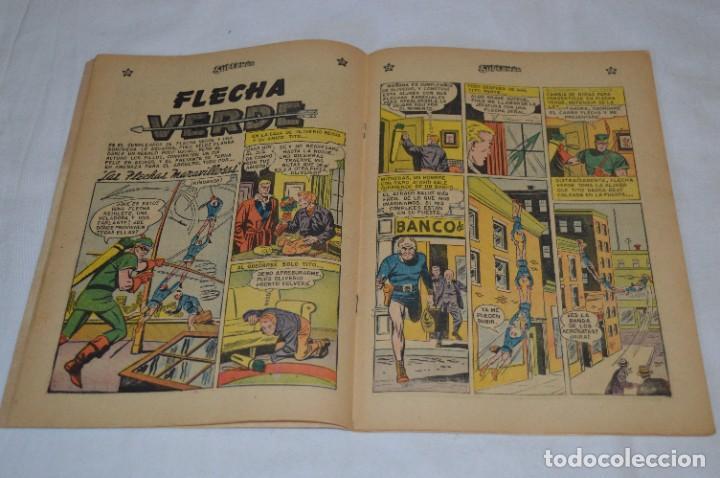 Tebeos: El MISTERIO del MONSTRUO X / Número 191 / SUPERMAN / De NOVARO -Años 50/60 - ¡Mira fotos y detalles! - Foto 5 - 278931848