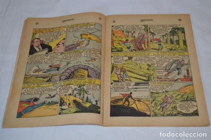 Tebeos: El MISTERIO del MONSTRUO X / Número 191 / SUPERMAN / De NOVARO -Años 50/60 - ¡Mira fotos y detalles! - Foto 4 - 278931848