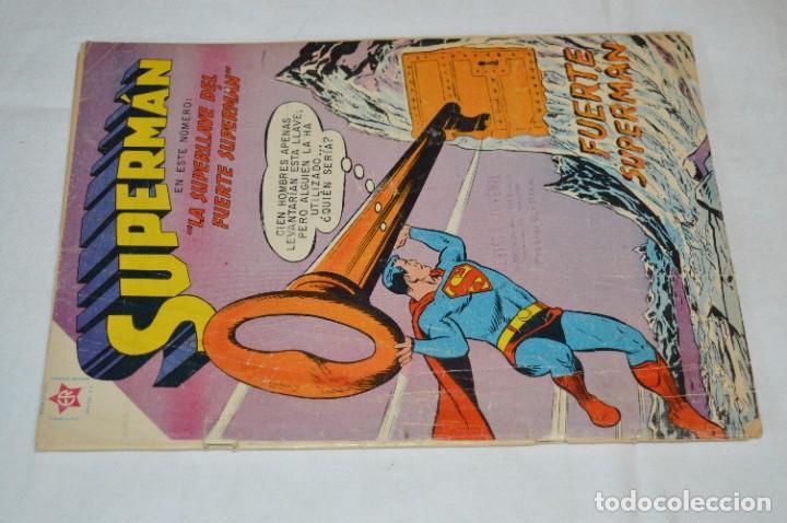 Tebeos: LA SUPERLLAVE DEL FUERTE SUPERMAN / Núm 206 / SUPERMAN / NOVARO -Años 50/60 - ¡Mira fotos/detalles! - Foto 2 - 278933733