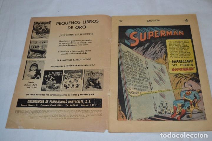 Tebeos: LA SUPERLLAVE DEL FUERTE SUPERMAN / Núm 206 / SUPERMAN / NOVARO -Años 50/60 - ¡Mira fotos/detalles! - Foto 3 - 278933733
