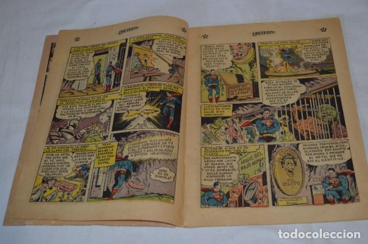 Tebeos: LA SUPERLLAVE DEL FUERTE SUPERMAN / Núm 206 / SUPERMAN / NOVARO -Años 50/60 - ¡Mira fotos/detalles! - Foto 5 - 278933733