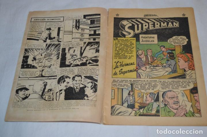 """Tebeos: """"LA HERMANA DE SUPERMAN"""" / Número 168 / SUPERMAN / NOVARO -Años 50/60 - ¡Mira fotos/detalles! - Foto 4 - 278970743"""