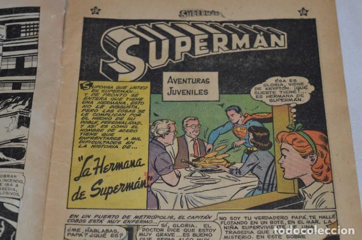 """Tebeos: """"LA HERMANA DE SUPERMAN"""" / Número 168 / SUPERMAN / NOVARO -Años 50/60 - ¡Mira fotos/detalles! - Foto 5 - 278970743"""