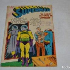 """Tebeos: """"EL NUEVO UNIFORME DE SUPERMAN"""" / NÚMERO 184 / SUPERMAN / NOVARO -AÑOS 50/60 - ¡MIRA FOTOS/DETALLES!. Lote 278972763"""