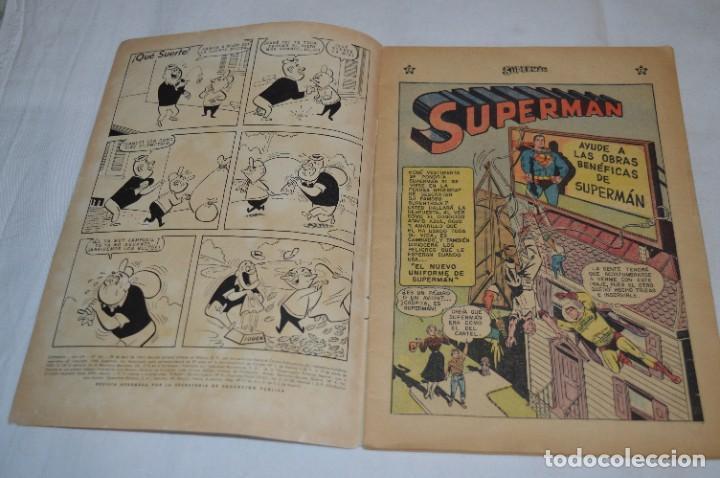 """Tebeos: """"EL NUEVO UNIFORME DE SUPERMAN"""" / Número 184 / SUPERMAN / NOVARO -Años 50/60 - ¡Mira fotos/detalles! - Foto 4 - 278972763"""