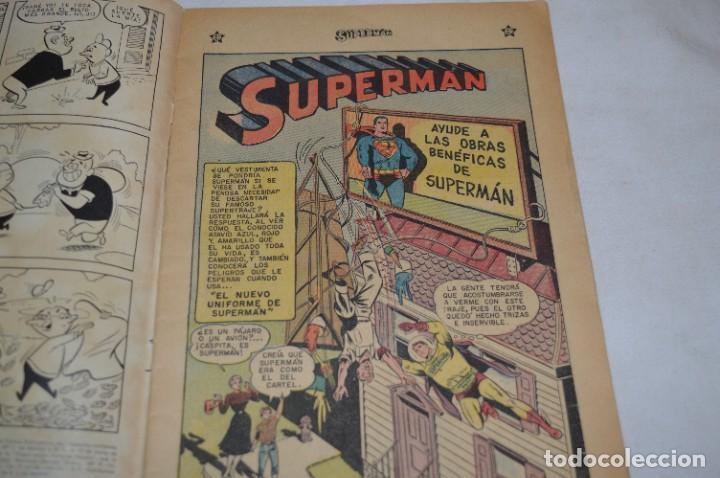 """Tebeos: """"EL NUEVO UNIFORME DE SUPERMAN"""" / Número 184 / SUPERMAN / NOVARO -Años 50/60 - ¡Mira fotos/detalles! - Foto 5 - 278972763"""