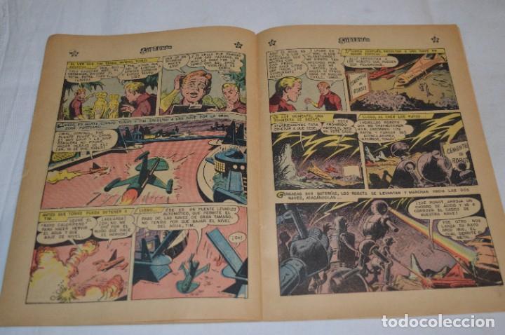 """Tebeos: """"EL NUEVO UNIFORME DE SUPERMAN"""" / Número 184 / SUPERMAN / NOVARO -Años 50/60 - ¡Mira fotos/detalles! - Foto 10 - 278972763"""