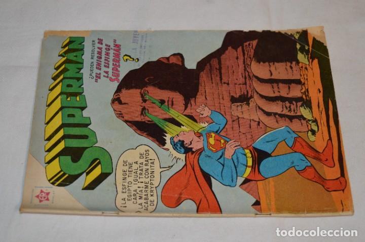 """Tebeos: """"EL ENIGMA DE LA ESFINGE SUPERMAN"""" / Núm 205 / SUPERMAN / NOVARO -Años 50/60 - ¡Mira fotos/detalles! - Foto 3 - 278975673"""