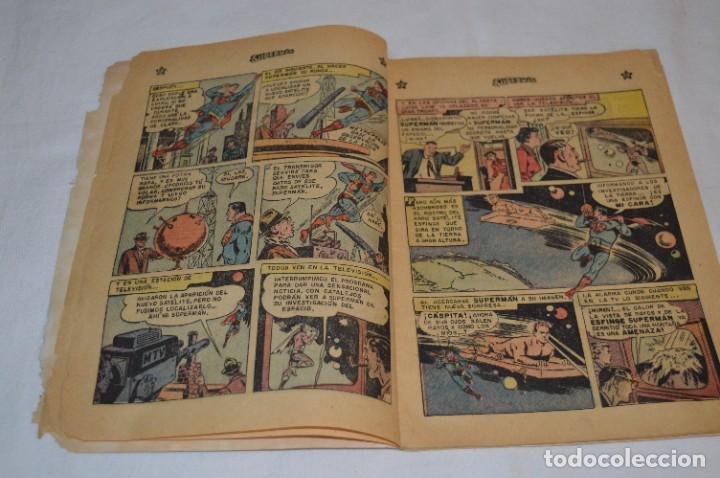 """Tebeos: """"EL ENIGMA DE LA ESFINGE SUPERMAN"""" / Núm 205 / SUPERMAN / NOVARO -Años 50/60 - ¡Mira fotos/detalles! - Foto 6 - 278975673"""