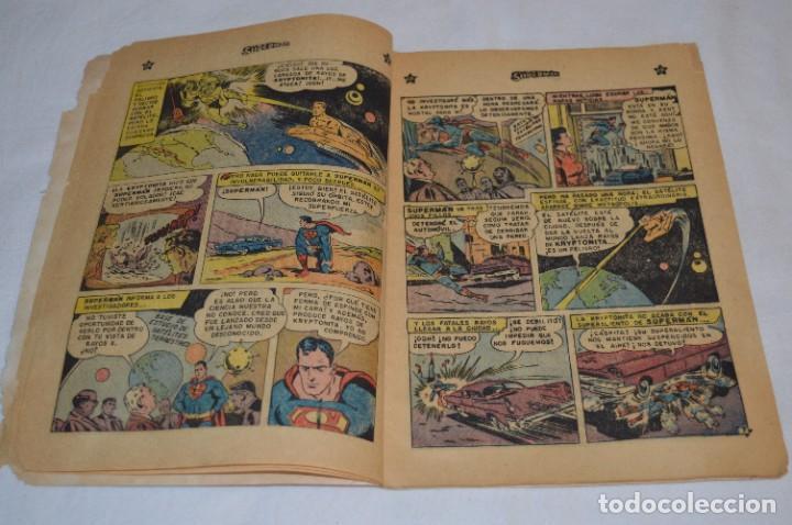 """Tebeos: """"EL ENIGMA DE LA ESFINGE SUPERMAN"""" / Núm 205 / SUPERMAN / NOVARO -Años 50/60 - ¡Mira fotos/detalles! - Foto 7 - 278975673"""